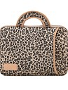 "lisen 13 ""14"" 15 ""leopard grain manchon de protection ordinateur portable sac a main"