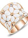 Roxi® Rose White Flower Ring