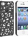 아이폰 4 / 4S에 대한 새의 둥지 밖으로 휴대 전화 보호 쉘 (모듬 색상)