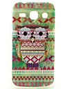 Tribal Owl Pattern Pattern Design Durable TPU Cover Case for Samsung Galaxy Star 2 Plus