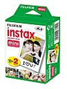 20 Fujifilm Instax Mini Instant White Film-Twin Pack
