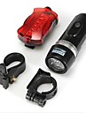 Front Bike Light / Rear Bike Light / Rechargeable Bike Light Set LED Bike Light - Cycling Waterproof AAA 100 lm Battery Camping / Hiking / Caving / Everyday Use / Cycling / Bike / IPX-4