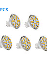 200-250 lm GU4(MR11) LED Filament Bulbs 24 leds SMD 2835 Warm White Cold White AC 12V