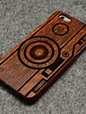 Pear Wood Camera Hard Back Cover for iPhone 6 Plus iPhone Cases