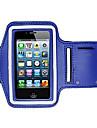 Pour Avec Ouverture Brassard Coque Brassard Coque Couleur Pleine Flexible Tissu pour Universel iPhone 6s/6 iPhone SE/5s/5 iPhone 5c