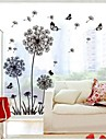 Botanical Wall Stickers Plane Wall Stickers Decorative Wall Stickers,Vinyl Material Removable Home Decoration Wall Decal