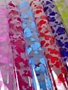 cellophanes du paquet plastique de couleur (10pcs) couleur aleatoire