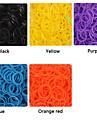 baoguang®600pcs cor do arco-íris tear de alta elástico de borracha moda tear band (24pcs gancho)