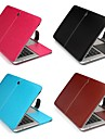 Capa para MacBook Solido PU Leather para MacBook Air 13 Polegadas