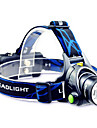 TD286 LED Flashlights/Torch Headlamps LED 800 Lumens Mode Cree T6 2 x 18650 Batteries Adjustable Focus Rechargeable Waterproof for
