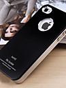 Joyland fosco cor sólida do metal Capa para iPhone 4/4S (cores sortidas)