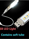 1pc Night Light LED Lampada da lettura LED USB Decorativo 220V