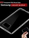 삼성 Samsung Galaxy S6 edge - 뒷 커버 - 솔리드 컬러 - 삼성 모바일폰 ( 화이트 , TPU )