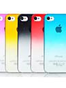Transparent - Coque - pour iPhone 4/4S/iPhone 4 ( Rouge/Noir/Bleu/Jaune/Rouge Rose , Polycarbonate )