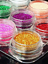 12pcs Glitter & Poudre Powder Abstract Classic Wedding High Quality Daily