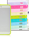JOYLAND Scrub Hard Bottom Soft Edge Transparent Plastic Back Cover for iPhone 5/5S (Assorted Color)