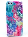 For iPhone 7 Plus Mandala Flower Pattern Hard Cover Case for iPhone 5/5S