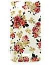 Flower  Pattern TPU Soft Back Cover for Wiko RAINBOW