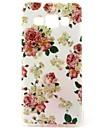 제품 삼성 갤럭시 케이스 케이스 커버 패턴 뒷면 커버 케이스 꽃장식 TPU 용 Samsung Galaxy A3