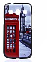 Telephone Booth Pattern PC Hard Back Cover Case for Samsung Galaxy Core Plus G350