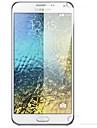 Protecteur d'écran Samsung Galaxy pour S6 PET Ecran de Protection Avant Haute Définition (HD)