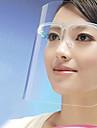 부엌 요리 방지 기름 얼룩 얼굴 마스크 얼굴 보호용 쉴드 (색상 랜덤) 21 * 27.5 * 3cm