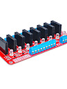Eight for Arduino solid state relay (red)