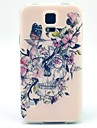 Under The Flower Pattern TPU Soft Case for S5 I9600
