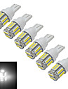 T10 Decoration Light 10 SMD 7020 210lm Cold White 6000-6500K DC 12V