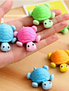 Special Design Tortoise Shaped Eraser(Random Color) For School / Office