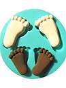 empreinte bebe silicone fondant moules a gateau moule de chocolat pour l\'outil de sucre gateau de decoration cuisine de cuisson