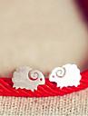 여성 스터드 귀걸이 의상 보석 스탈링 실버 보석류 제품 결혼식 파티 일상 캐쥬얼