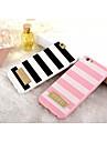 Pour Coque iPhone 6 Coques iPhone 6 Plus Motif Coque Coque Arrière Coque Lignes / Vagues Flexible PUT pouriPhone 6s Plus/6 Plus iPhone