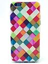 caixa de cor padrão TPU macio para iphone 5c