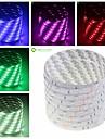 SENCART 5 M 150 5050 SMD 웜 화이트/화이트/RGB/레드/옐로/블루/그린 방수/컷테이블/리모컨/밝기조절가능/연결가능/자동차에 적합/접착성이 있는 36 W 유연한 LED 조명 스트립 DC12 V