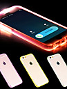 Case For Apple iPhone 6 iPhone 6 Plus LED Flash Lighting Transparent Back Cover Solid Color Soft TPU for iPhone 6s Plus iPhone 6s iPhone