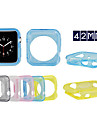Colorful TPU Protective Sleeve for Apple Watch 42 MM(Assorted Colors)