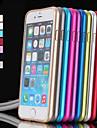 colorido pára-choques de metal para iphone 6 (cores sortidas)