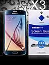 HD экран протектор с пылью-поглотителя для Samsung Galaxy s6 края (3 шт)