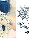 1 Tatouages Autocollants Serie message Non Toxique Bas du Dos ImpermeableEnfant Homme Femme Adulte Adolescent Tatouage Temporaire