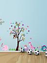 Цветы Наклейки Простые наклейки Декоративные наклейки на стены, Винил Украшение дома Наклейка на стену Стена Украшение