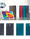 Case For Tab S 8.4 Samsung Galaxy Samsung Galaxy Case with Stand Flip Origami Full Body Cases Solid Color PU Leather for