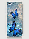 Two Butterfly Pattern Case Back Cover for Phone4/4S Case iPhone Cases