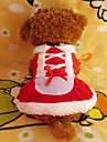 Dog Dress Dog Clothes Christmas White/Red Costume For Pets