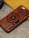 Pour Coque iPhone 6 Coques iPhone 6 Plus Etuis coque Motif Coque Arriere Coque Bande dessinee Dur Bois pouriPhone 6s Plus iPhone 6 Plus