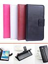 Кейс для Назначение SSamsung Galaxy Кейс для  Samsung Galaxy Бумажник для карт со стендом Флип Магнитный Чехол Сплошной цвет Кожа PU для