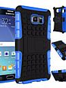 Pour Samsung Galaxy Note7 Antichoc Avec Support Coque Coque Arriere Coque Armure Polycarbonate pour SamsungNote 7 Note 5 Edge Note 5 Note