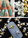 1 pcs Bijoux a ongles Punk / Mode Adorable Quotidien Nail Art Design / Metal