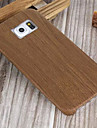 Case For Samsung Galaxy Samsung Galaxy Case Back Cover Wood Grain TPU for S6 edge S6