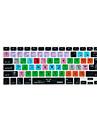 XSKN Logic Pro x 10 atalho tampa do teclado sobreposicao de silicone para macbook pro retina Air 13 \'\' 15 \'\' 17 \'\'